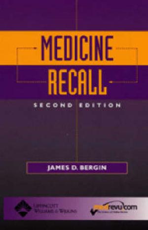 Cover of Medicine Recall