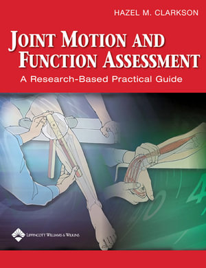 Cover of Joint Motion and Function Assessment