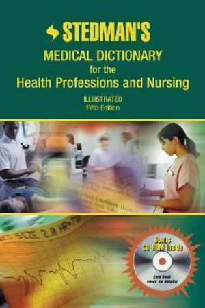 Cover of Stedman's Medical Dictionary for the Health Professions and Nursing