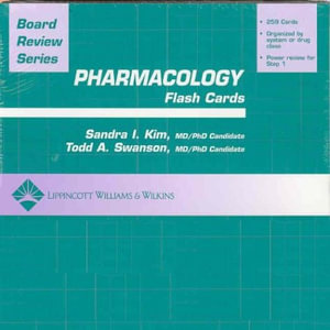 Cover of BRS Pharmacology Flash Cards