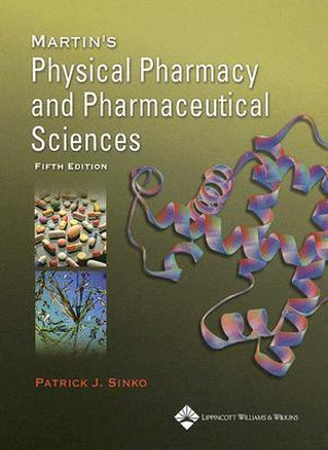 Cover of Martin's Physical Pharmacy and Pharmaceutical Sciences