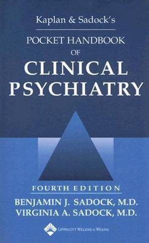 Cover of Kaplan & Sadock's Pocket Handbook of Clinical Psychiatry