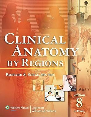 Cover of Clinical Anatomy by Regions