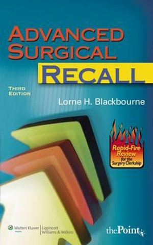Cover of Advanced Surgical Recall