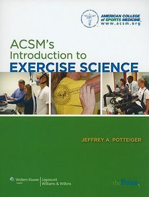 Cover of ACSMS's Introduction to Exercise Science