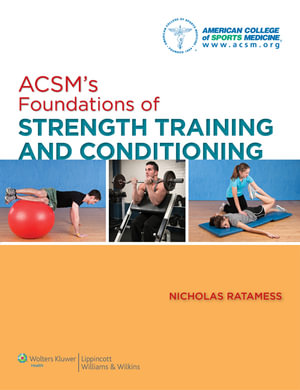 Cover of ACSM's Foundations of Strength Training and Conditioning