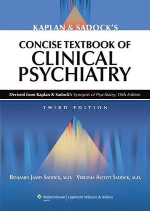 Cover of Kaplan & Sadock's Concise Textbook of Clinical Psychiatry