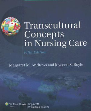 Cover of Transcultural Concepts in Nursing Care