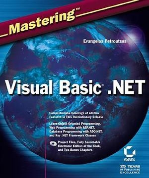 Cover of Mastering Visual Basic.Net