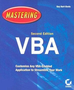 Cover of Mastering MIcrosoft VBA