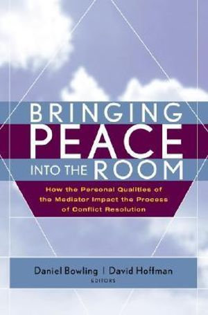 Cover of Bringing Peace Into the Room