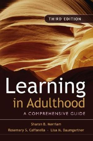 Cover of Learning in Adulthood
