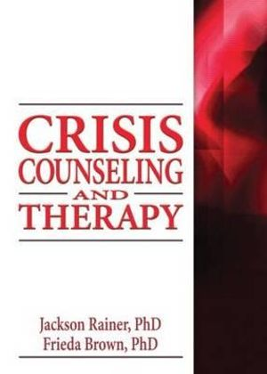 Cover of Crisis Counseling and Therapy