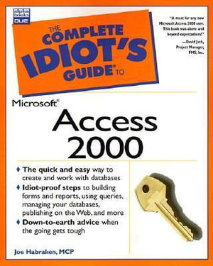 Cover of The Complete Idiot's Guide to Microsoft Access 2000