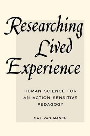 Cover of Researching Lived Experience