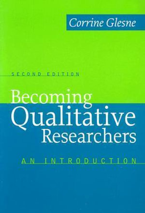 Cover of Becoming Qualitative Researchers