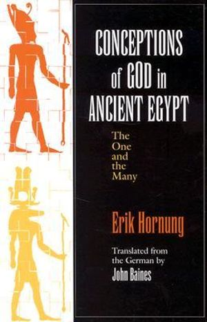 Cover of Conceptions of God in Ancient Egypt