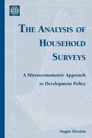 Cover of The Analysis of Household Surveys