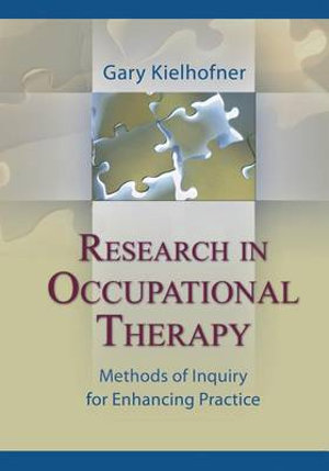 Cover of Research in Occupational Therapy