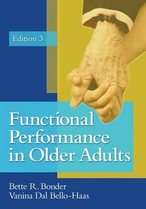 Cover of Functional Performance In Older Adults