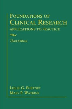 Cover of Foundations of Clinical Research