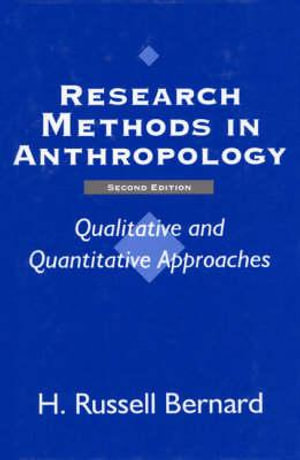 Cover of Research Methods in Anthropology