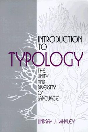 Cover of Introduction to Typology