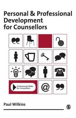 Cover of Personal and Professional Development for Counsellors