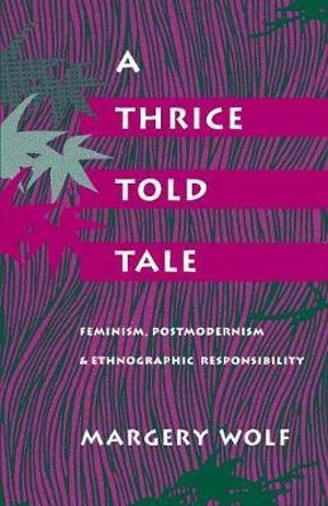 Cover of A Thrice-told Tale