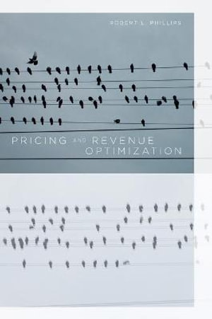 Cover of Pricing and Revenue Optimization