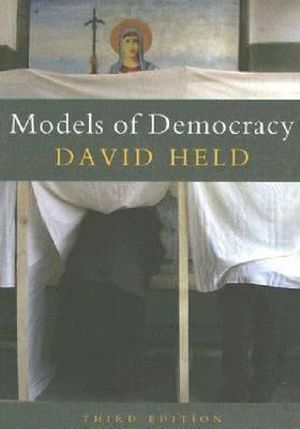 Cover of Models of Democracy