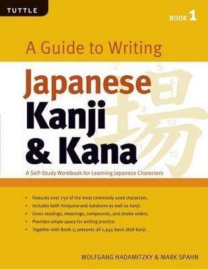 Cover of A Guide to Writing Japanese Kanji & Kana