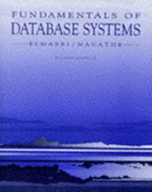 Cover of FUNDAMENTALS OF DATABASE SYSTEMS. Edition en anglais, 2nd edition