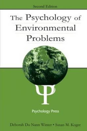 Cover of The Psychology of Environmental Problems