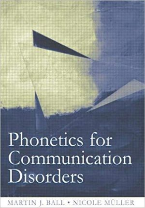 Cover of Phonetics for Communication Disorders