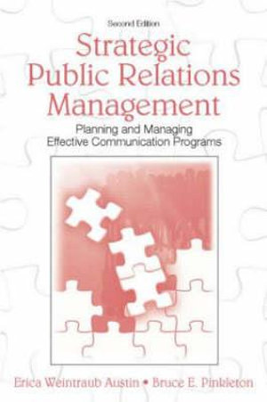 Cover of Strategic Public Relations Management