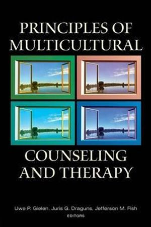 Cover of Principles of Multicultural Counseling and Therapy