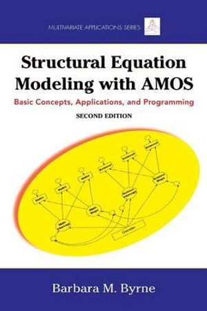 Cover of Structural Equation Modeling with AMOS