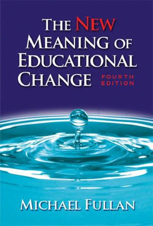 Cover of The New Meaning of Educational Change