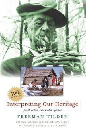 Cover of Interpreting our heritage