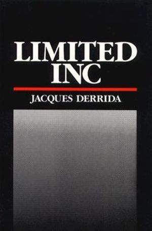 Cover of Limited Inc