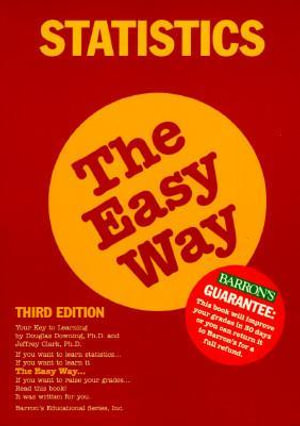 Cover of Statistics the Easy Way