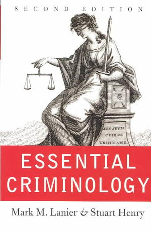 Cover of Essential criminology