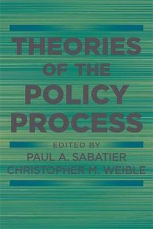 Cover of Theories of the Policy Process