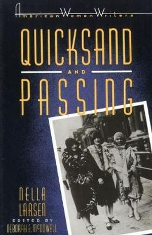 Cover of Quicksand ; And, Passing
