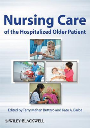 Cover of Nursing Care of the Hospitalized Older Patient