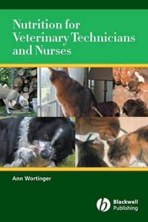 Cover of Nutrition for Veterinary Technicians and Nurses
