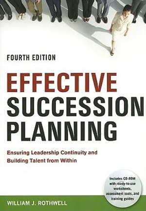 Cover of Effective Succession Planning