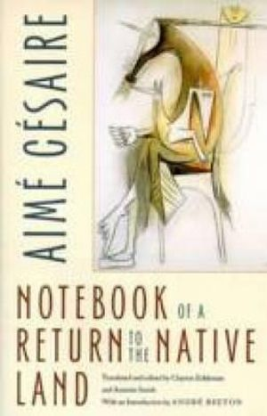 Cover of Notebook of a Return to the Native Land