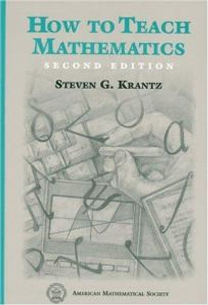Cover of How to Teach Mathematics, Second Edition